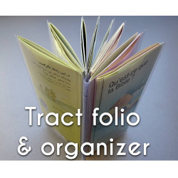 Tract folio and organizer
